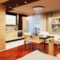 mājīgs neparasts dzīvokļa attēla dekors