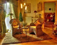 conception de maison légère en photo de style campagnard