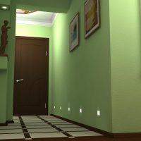 neparasta pistāciju krāsa dzīvokļa foto interjerā