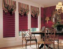 version bricolage de belle décoration de rideaux photo