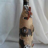 design inhabituel de bouteilles pour l'intérieur de la pièce picture
