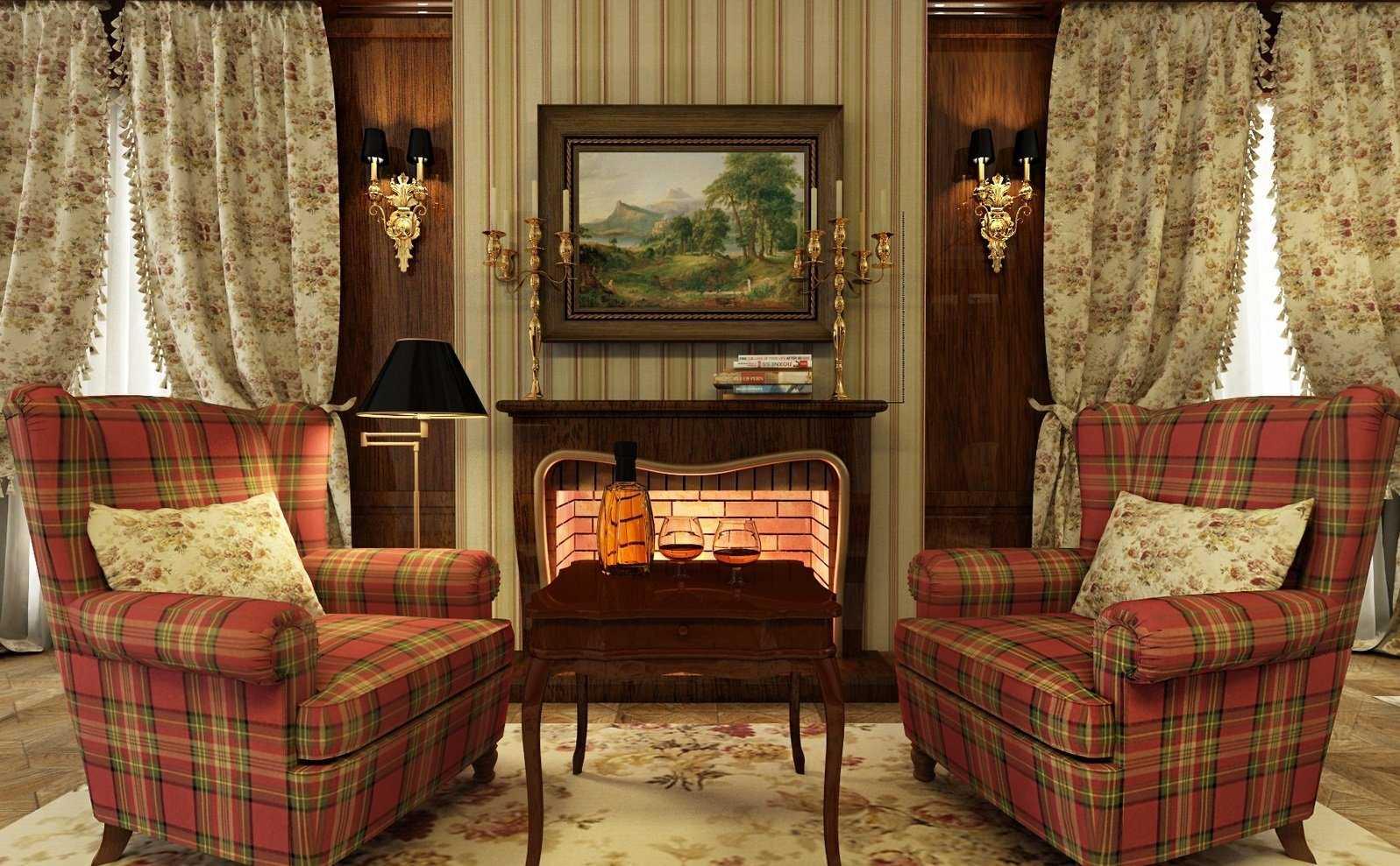 gaišs Viktorijas laika stila dzīvokļa interjers