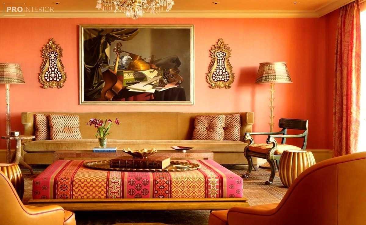 moderna dizaina dzīvoklis austrumu stilā