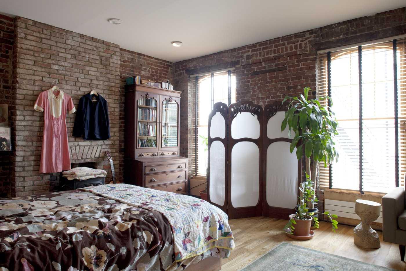 neparasta guļamistabas fasāde austrumu stilā