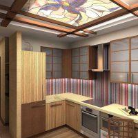 moderna interjera dzīvoklis austrumu stila fotoattēlā