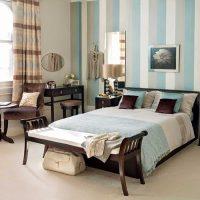 istabas oriģinālais stils zilā fotoattēlā