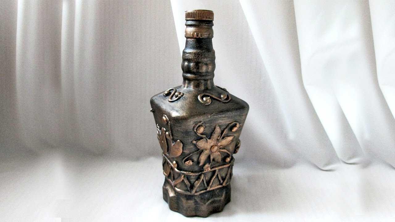 design de bouteille inhabituel pour le style de la pièce