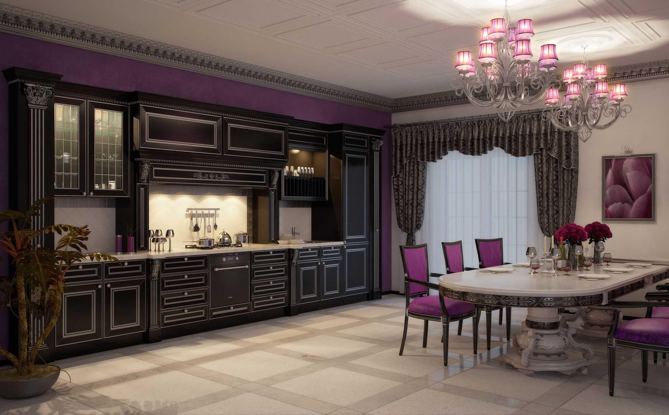 neparasts dzīvojamās istabas dizains Viktorijas laikmeta stilā