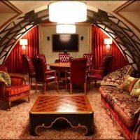 skaista stila istaba austrumu stila attēlā
