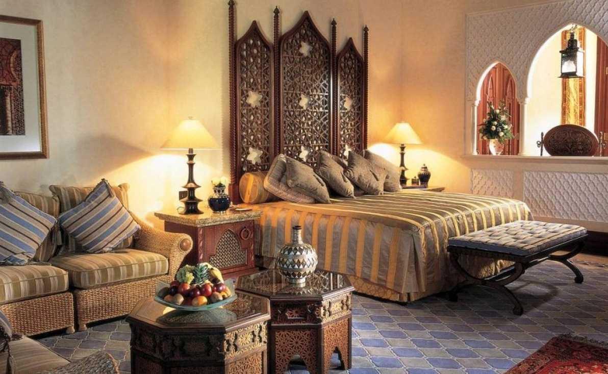 skaists dzīvokļa dizains austrumu stilā
