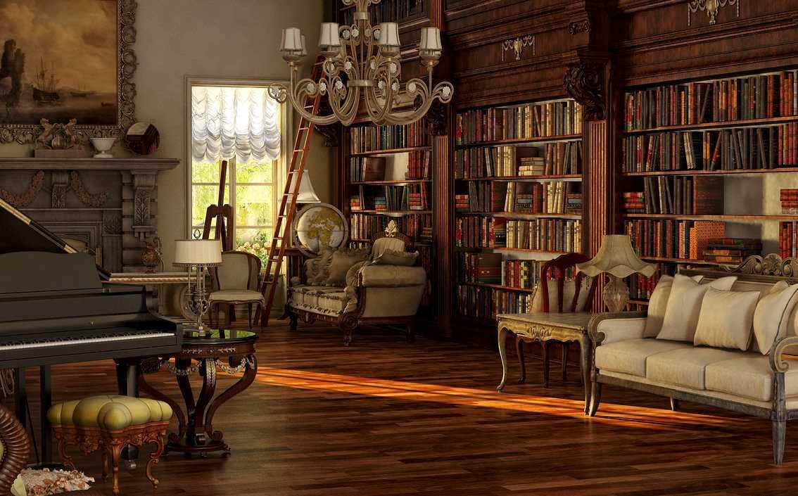 gaišs Viktorijas laika stila dzīvoklis