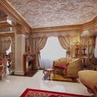 neparasts istabas stils austrumu stila fotoattēlā