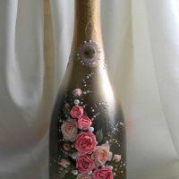 décoration de bouteille originale pour la photo intérieure de la pièce