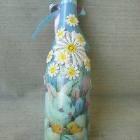 décoration de bouteille inhabituelle pour la photo de conception de chambre