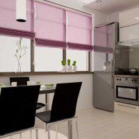 spilgti rozā kombinācija guļamistabas dekorā ar citām fotoattēla krāsām