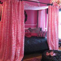 gaiši rozā kombinācija mājas stilā ar citām fotoattēla krāsām