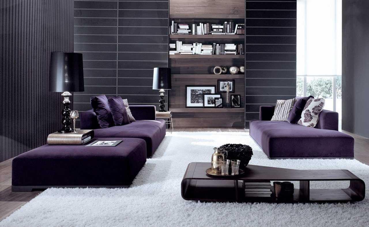 kombinacija tamno sive boje u unutrašnjosti spavaće sobe