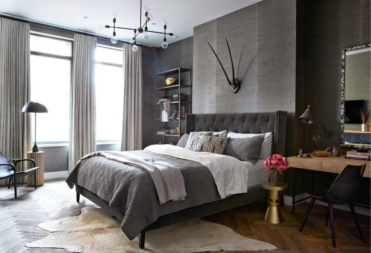 kombinacija svijetlo sive boje u dekoru stana