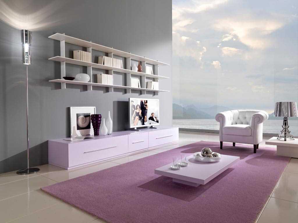 spilgti rozā kombinācija dzīvokļa stilā ar citām krāsām