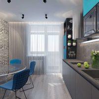 kombinacija svijetlo sive boje u dekoru fotografije spavaće sobe