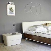 kombinacija svijetlo sive boje u dizajnu fotografije stana