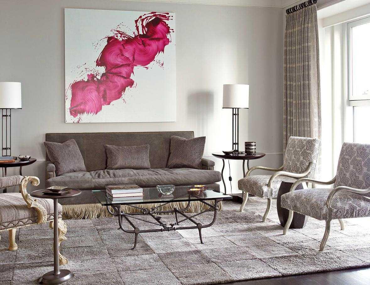 kombinacija svijetlo sive u stilu stana