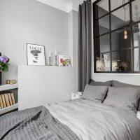 kombinacija tamno sive boje u unutrašnjosti slike kuće