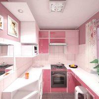 spilgti rozā krāsas kombinācija istabas dizainā ar citām fotoattēla krāsām