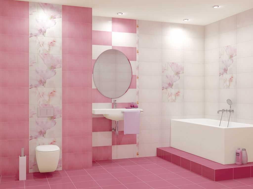 gaiši rozā kombinācija virtuves dizainā ar citām krāsām