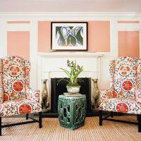 spilgts dzīvokļa dizains austrumu stila attēlā