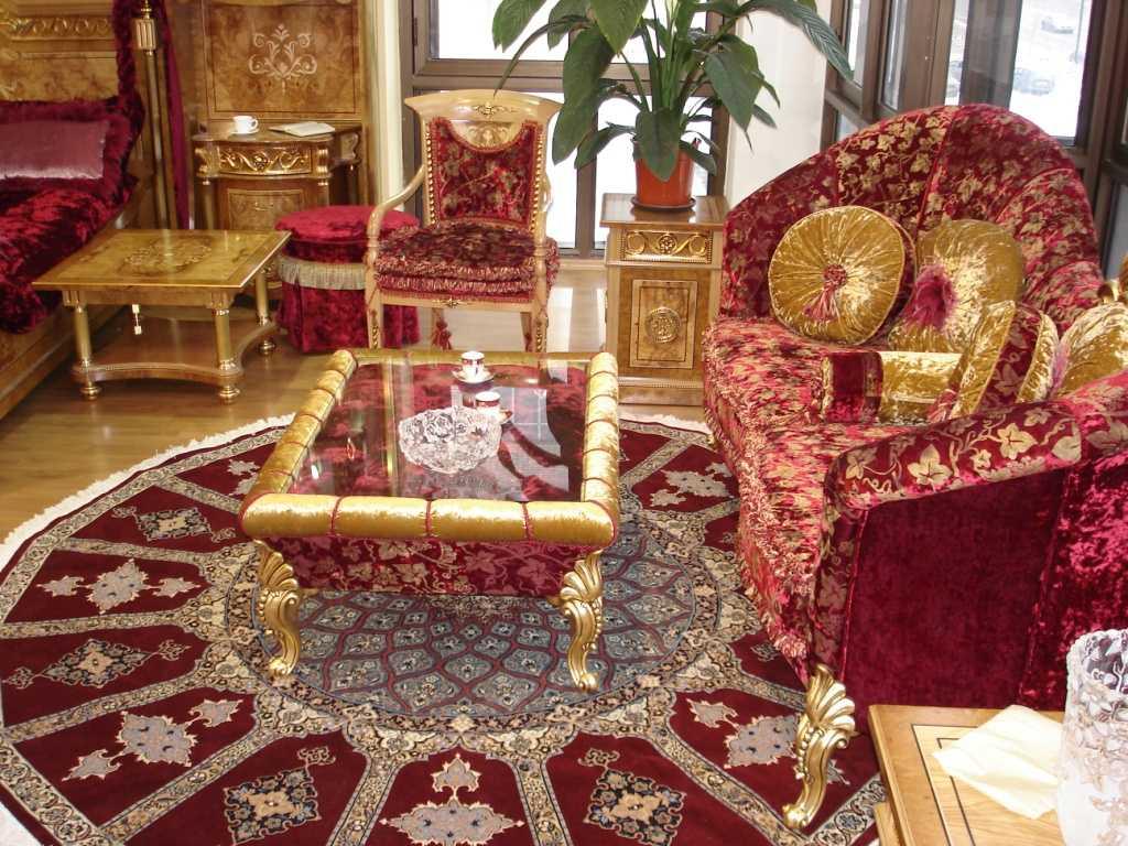 skaists istabas interjers austrumu stilā