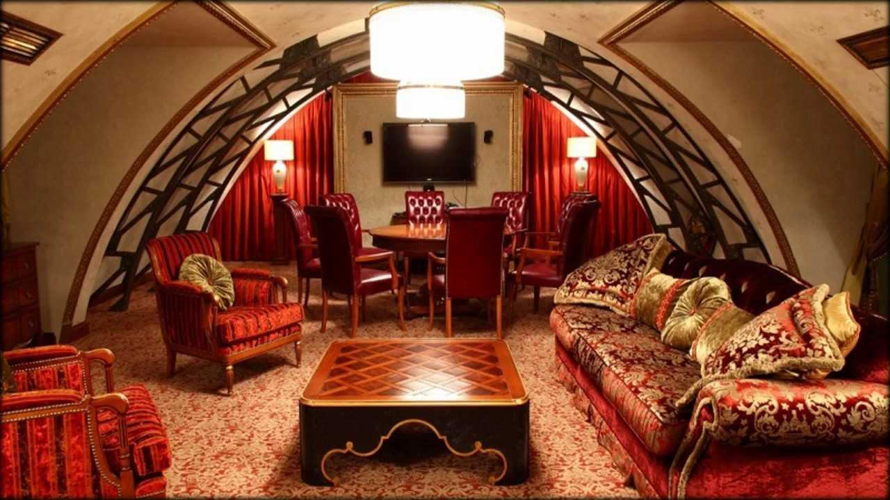 neparasts dzīvojamās istabas stils austrumu stilā
