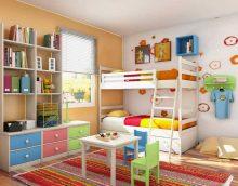 idée d'un décor lumineux d'une photo de chambre d'enfant