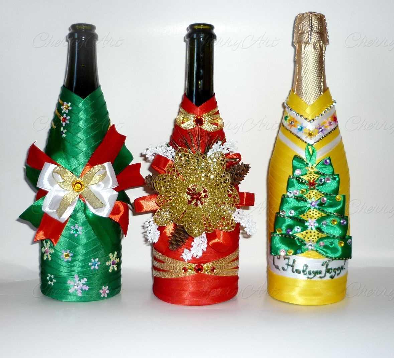 décoration de bouteille inhabituelle pour style appartement