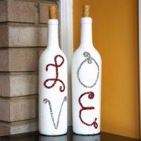 design de bouteille inhabituel pour la photo de conception de chambre