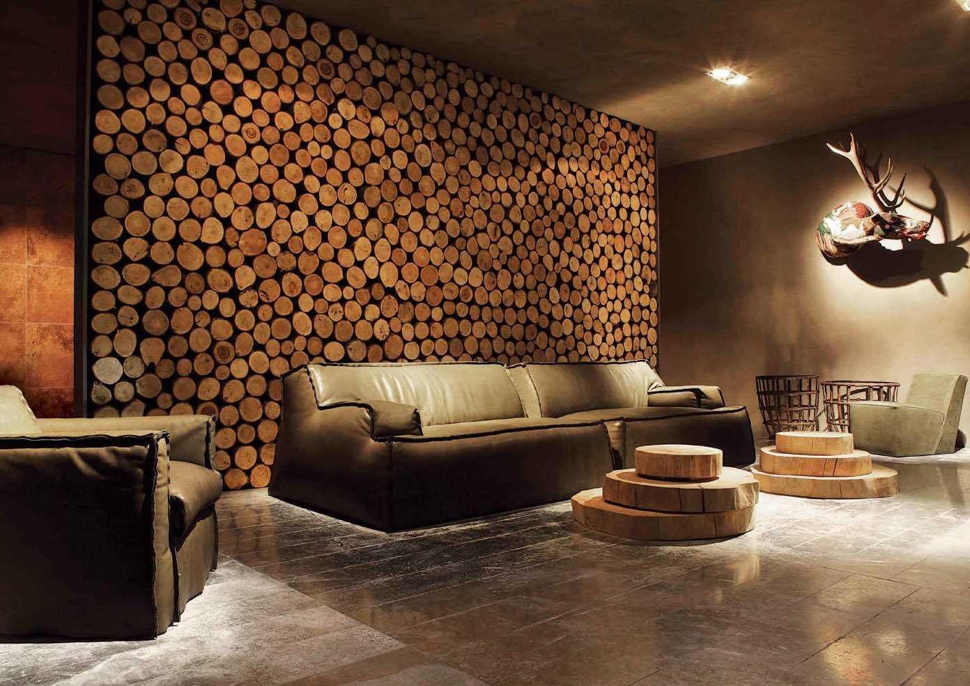 ideja par skaistu sienu dekorēšanu