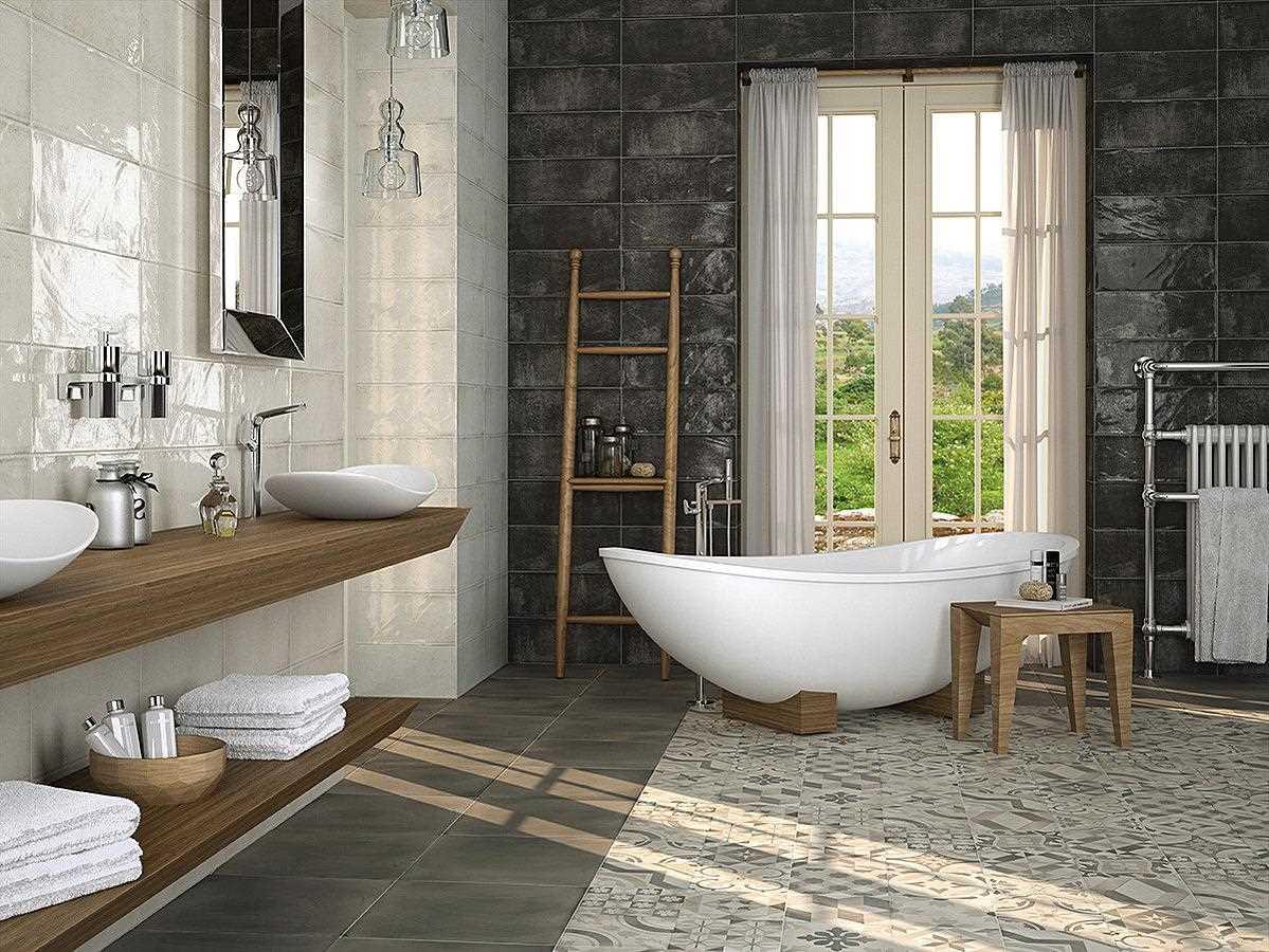 ideja par oriģinālu vannas istabas stilu