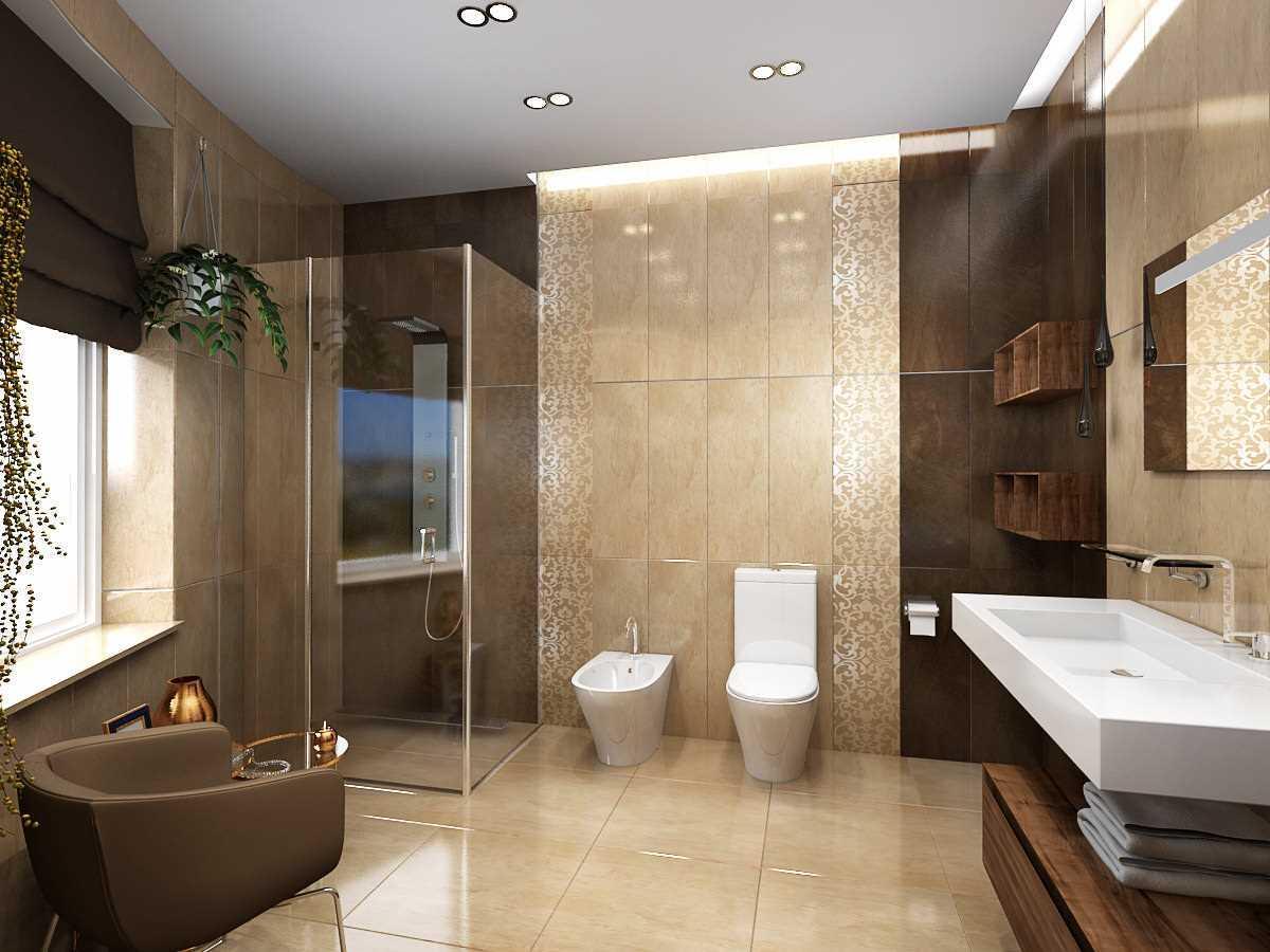 vannas istabas gaišā interjera variants