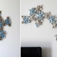ideja par oriģinālo sienas dekorēšanas attēlu