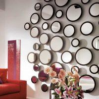 iespēja gaiši dekorēt sienas foto istabās