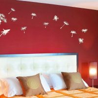 iespēja sienām spilgti dekorēt fotoattēla telpās