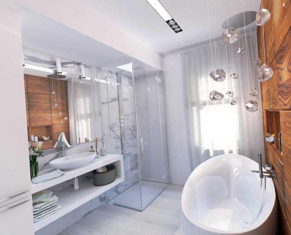oriģinālā vannas istabas dizaina variants