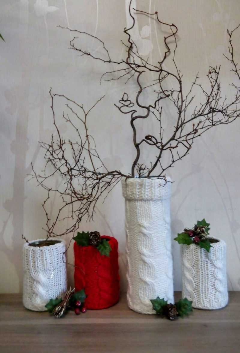 grīdas vāzes spilgtas dekorācijas variants