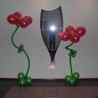 interjera svētku dekorēšanas variants līdz 8. marta attēlam