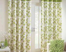 idée de beaux rideaux décoratifs dans le style d'une photo d'appartement