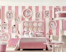 the idea of a bright bedroom interior decoration photo