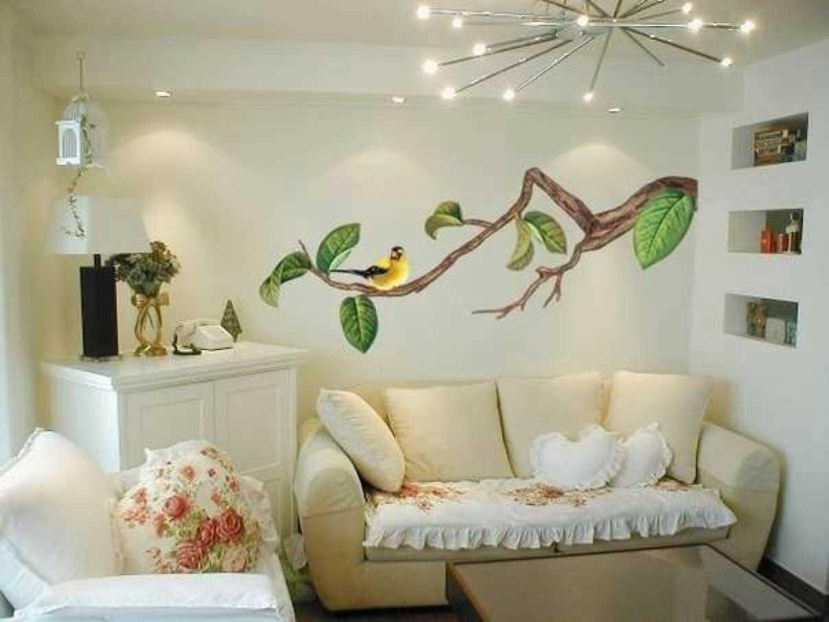 neparastas sienas dekorēšanas variants