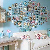 skaista sienas dekorēšanas attēla iespēja