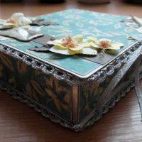 DIY spilgtas kastes opcijas foto