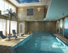 idée du décor original d'une photo de petite piscine